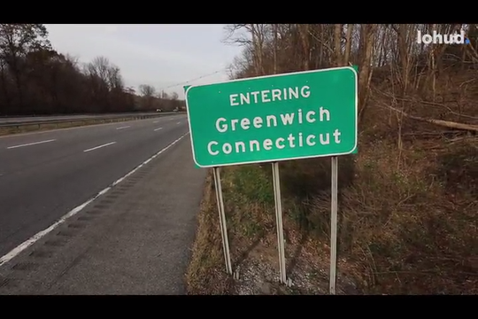 A 1.4 mile ride through Connecticut on Rt 684 near Westchester County Airport Nov. 11, 2019. Connecticut is proposing to charge a toll on vehicles on their stretch of the road.