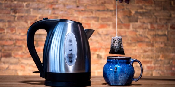 Our favorite affordable electric kettle is on sale for one of its lowest prices ever—and it's just in time for winter.