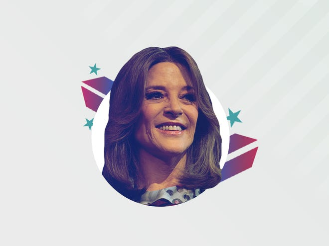 Democratic presidential candidate Marianne Williamson.