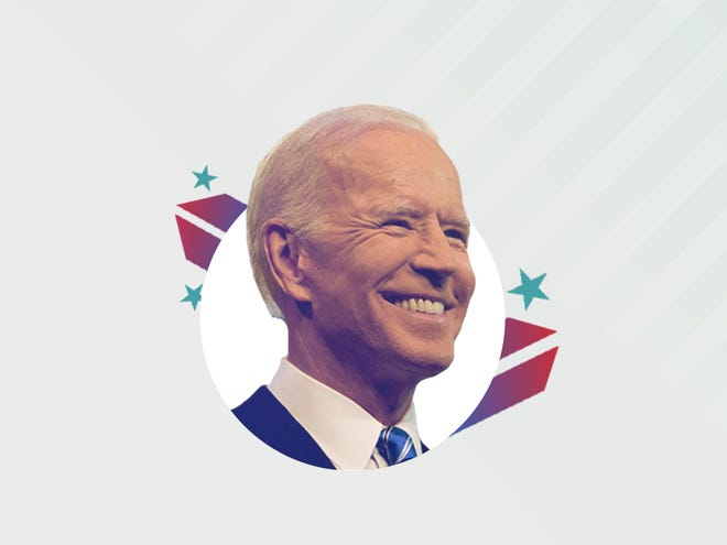 Democratic presidential candidate Joe Biden.