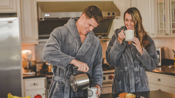 Get matching robes for you and your S.O.