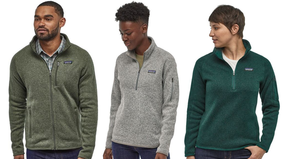 You can't go wrong gifting this comfy fleece sweater from Patagonia.