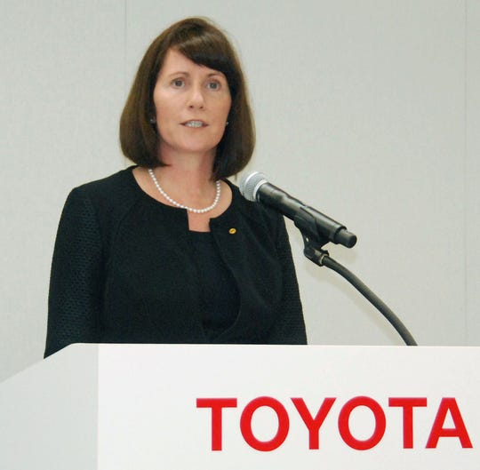 Julie Hamp held several executive communication roles in the auto industry, including for Toyota and General Motors.