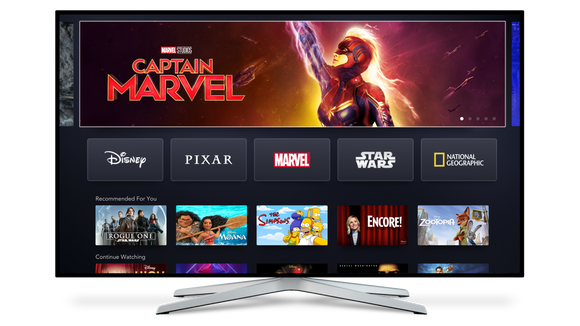 There's many ways to get Disney's new subscription service, Disney+, on your television including Amazon Fire TV, Apple TV, Roku, Google Chromecast, as well as smart TV apps.