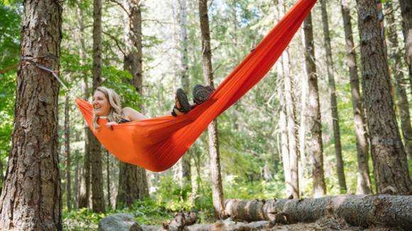 This double hammock is both fun and practical.