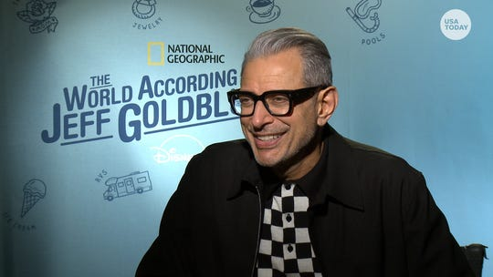 The 'very curious' Jeff Goldblum on his new Disney+ show and latest 'Jurassic' sequel