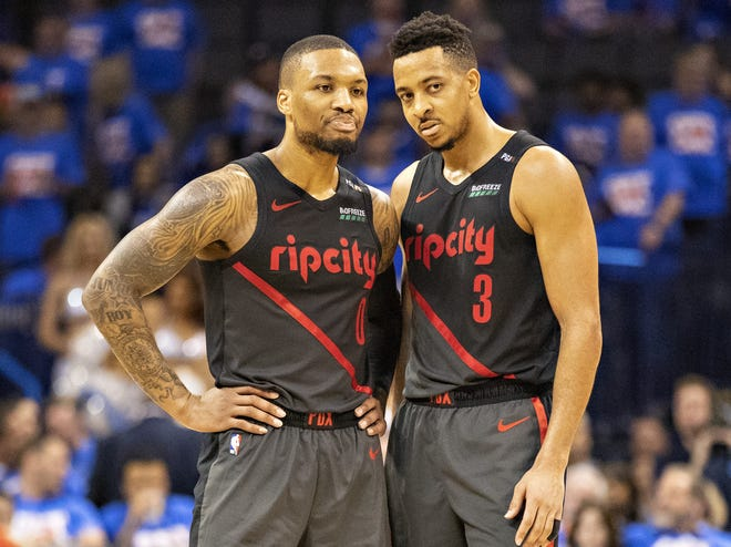 Portland Trail Blazers Why Damian Lillard, C.J. McCollum stay loyal to Portland Trail Blazers