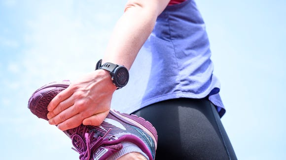 This running watch is a great gift for the fitness lover.