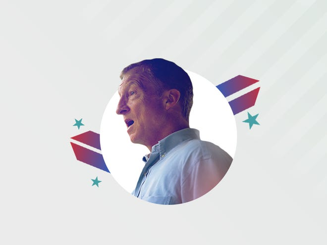 Democratic presidential candidate Tom Steyer.