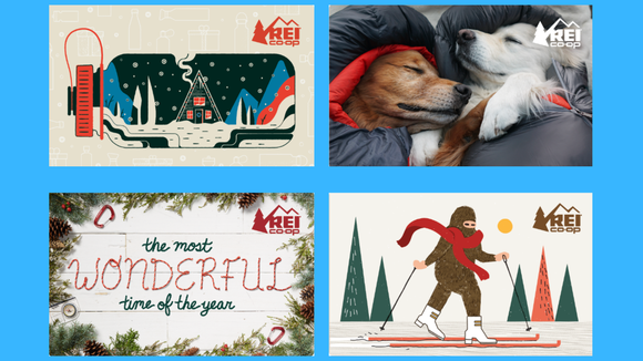 Can't decide what to get? Gift an REI gift card.