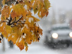 A winter storm that moved through the Fox Cities has caused hazardous road conditions on Wednesday, November 6, 2019, in the Fox Cities, Wis.  Wm. Glasheen/USA TODAY NETWORK-Wisconsin