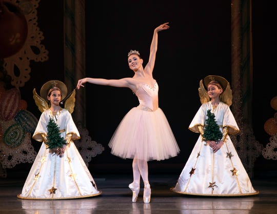 "TIler Peck as the Sugarplum Fairy in New York City Ballet's  ""George Balanchine's The Nutcracker"" in 2018."