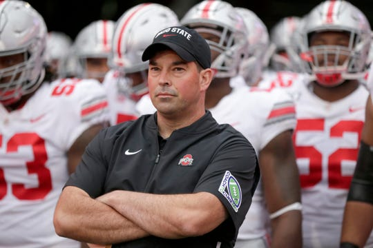 Ryan Day is 13-0 as head coach at Ohio State.