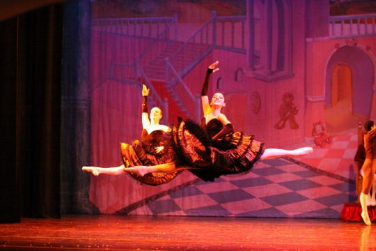 "The Spanish dance in ""The Nutcracker,"" by the Atlantic City Ballet."