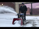 Richard is keeping Burlington pedestrians safe by snow blowing the sidewalks at 7 a.m. during the Nov. 12 snow storm.