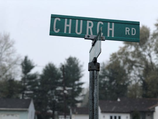 The 5100 block of Church Road was the scene of police activity on Tuesday morning as officers responded to reports of shots fired.