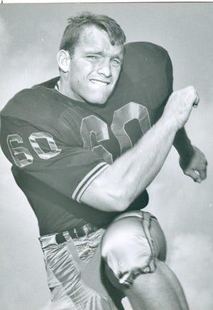 Purdue All-American defensive lineman Chuck Kyle