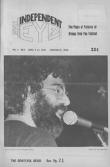 The Independent Eye edition of April 9-23, 1970.