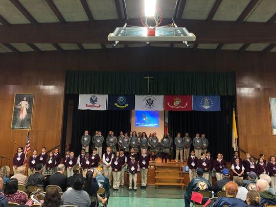 St. Joseph School honored veterans at their annual Veterans Day program.