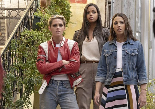 "Kristen Stewart, Naomi Scott and Ella Balinska star in the latest reboot of ""Charlie's Angels."""