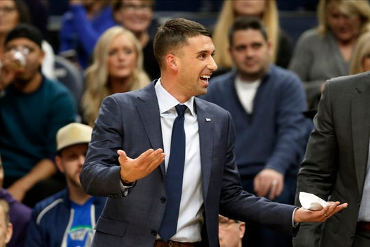 Minnesota Timberwolves head coach Ryan Saunders