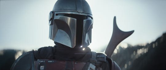 """""""The Mandalorian"""" is the first """"Star Wars"""" live-action series."""