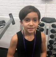 Jonah Goldwyn, 9, of Erwin is set to compete at the Natural Olympia in Las Vegas.