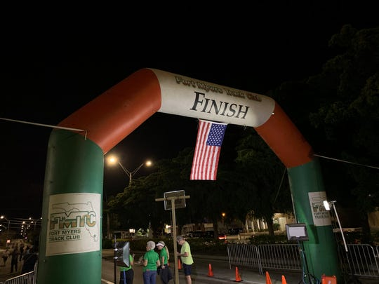 Sights from the Midpoint Madness Veteran's 5K, held in Fort Myers.
