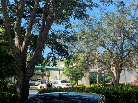 A spokesman for the Lee County Sheriff's Office confirmed that a shot had been fired and a person had committed suicide outside the offices of the Neurology Group on Whitehall and Sir Lancelot Way.