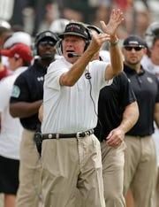 Former South Carolina coach Steve Spurrier  won 228 games during his college football coaching career, but only 69 before he turned 50.