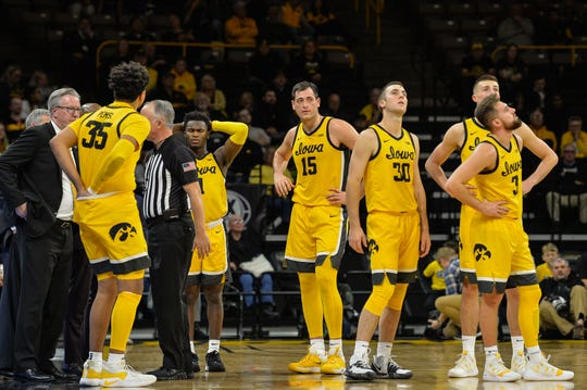 The Hawkeyes were left frustrated and disappointed during and after a 93-78 home loss to DePaul.