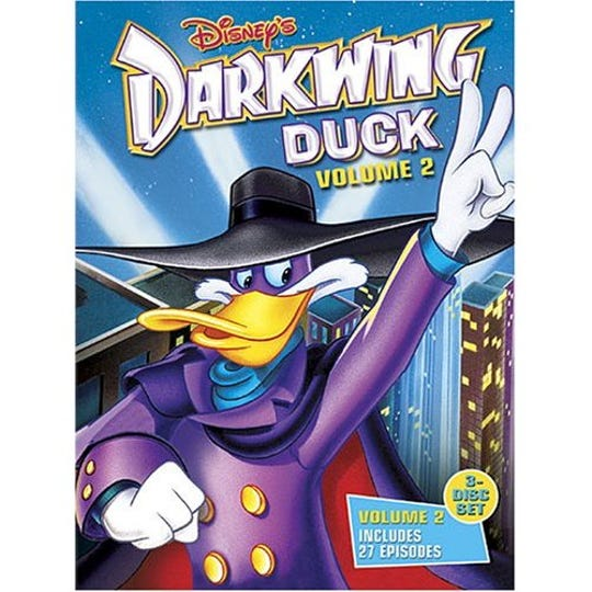 Darkwing Duck is one of the hundreds of titles available on the new Disney+ streaming service.