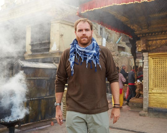 Josh Gates in Nepal.