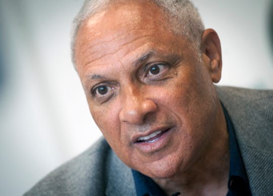 On Tuesday Nov. 12, 2019, Mike Espy discusses with Clarion Ledger what he feels he needs to do to win the U.S. Senate seat from Cindy Hyde-Smith in the upcoming 2020 election. In the 2018 special election, Espy lost his bid to unseat Hyde-Smith, appointed by Gov. Phil Bryant, to serve the remainder of Sen. Thad Cochran's term.