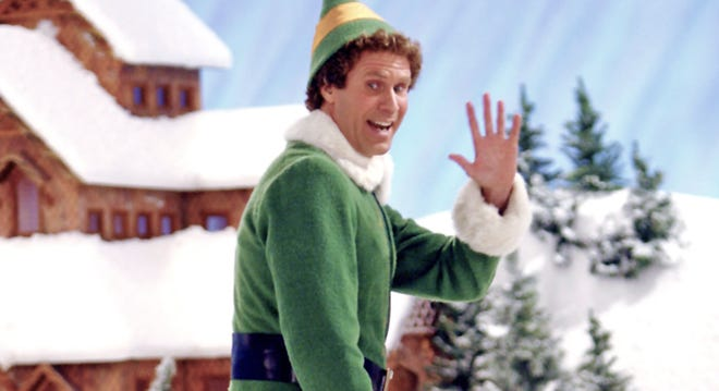 "The movie ""Elf"" will be shown Dec. 18 in Ocala."