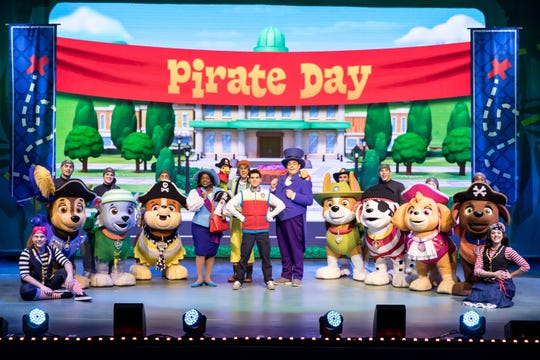 CAPA presents PAW Patrol Live! The Great Pirate Adventure at the Ohio Theatre (39 E. State St.) at 6 p.m. Friday, April 3, 10 a.m. to 2 p.m. Saturday, April 4; and 10 a.m. and 2 p.m.  Sunday, April 5.