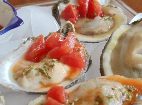 Chesapeake Bay oysters is one type of shellfish Oceanside Seafood sells.