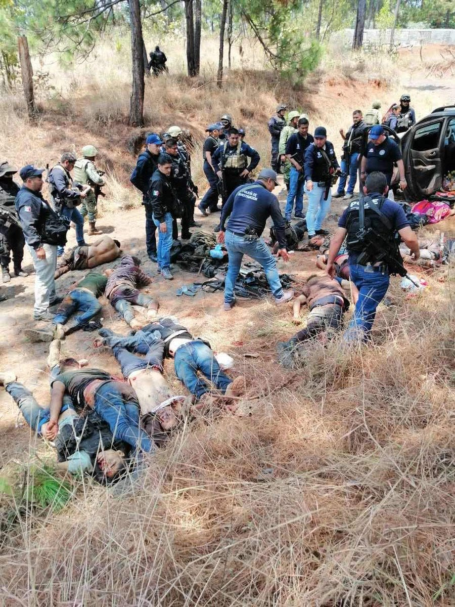 CJNG is blamed for this mass grave and many others.
