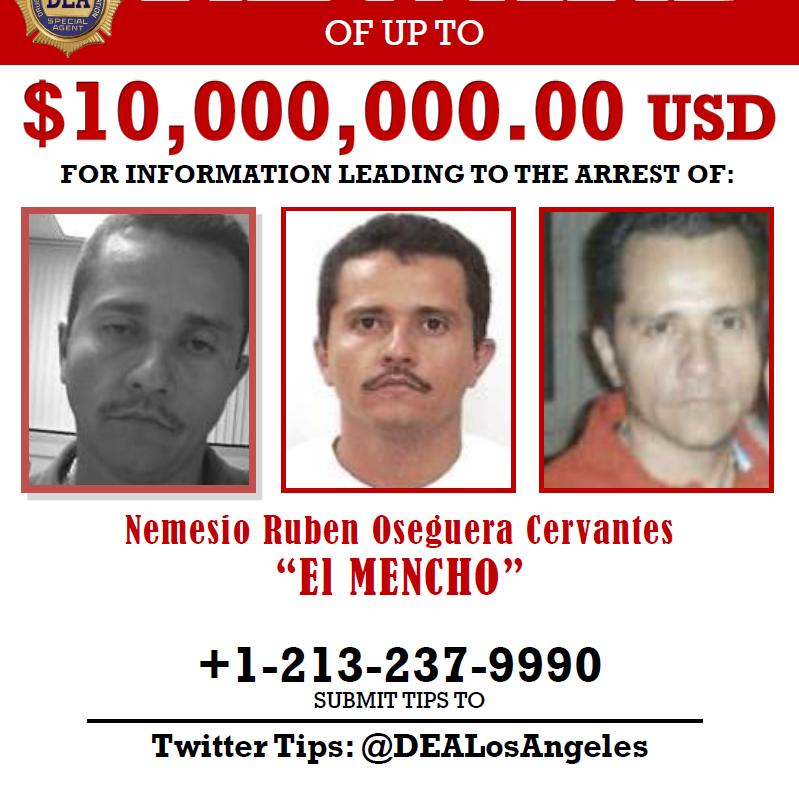 El Mencho's Mexican drug cartel empire is devastating small