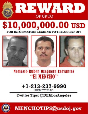 La Negra, daughter of the boss of the CJNG El Mencho cartel, sentenced in the United States