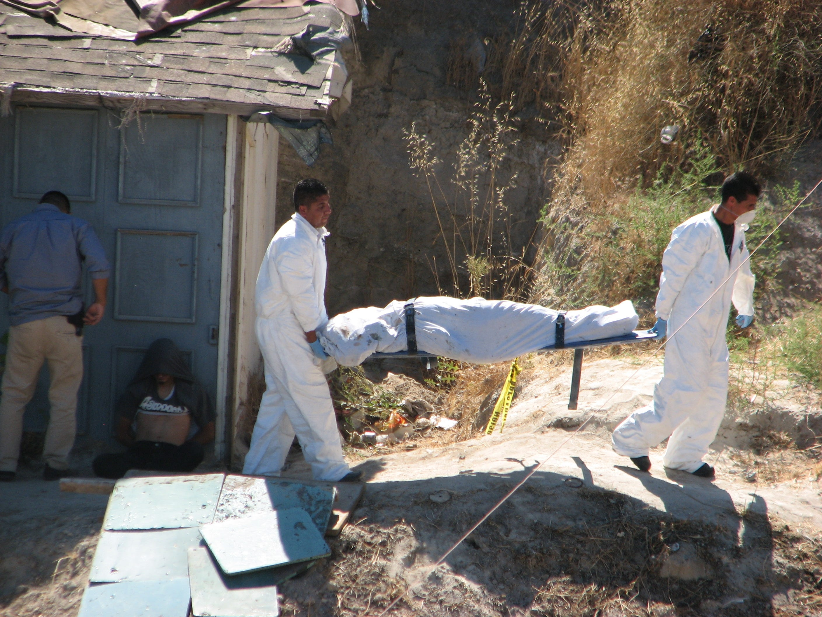 CJNG is blamed for several mass graves, leaving bodies of men and women stacked in houses or shallow pits.