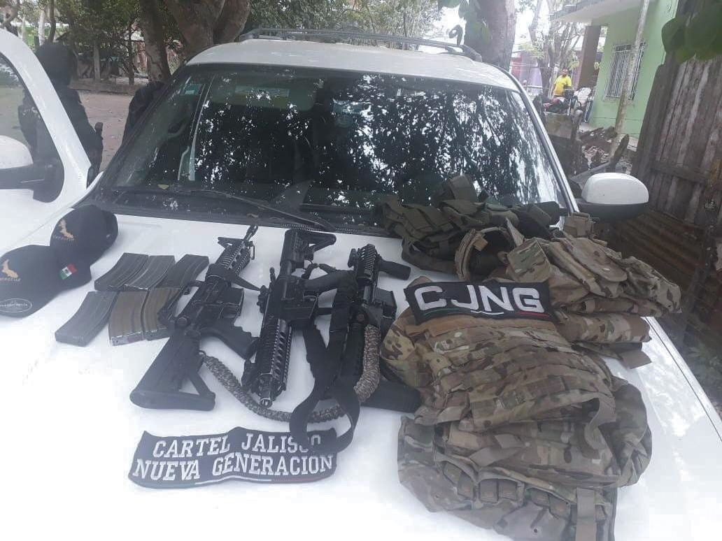 CJNG has its own SWAT-type teams with special weapons and safety gear, including bullet-resistant vests.