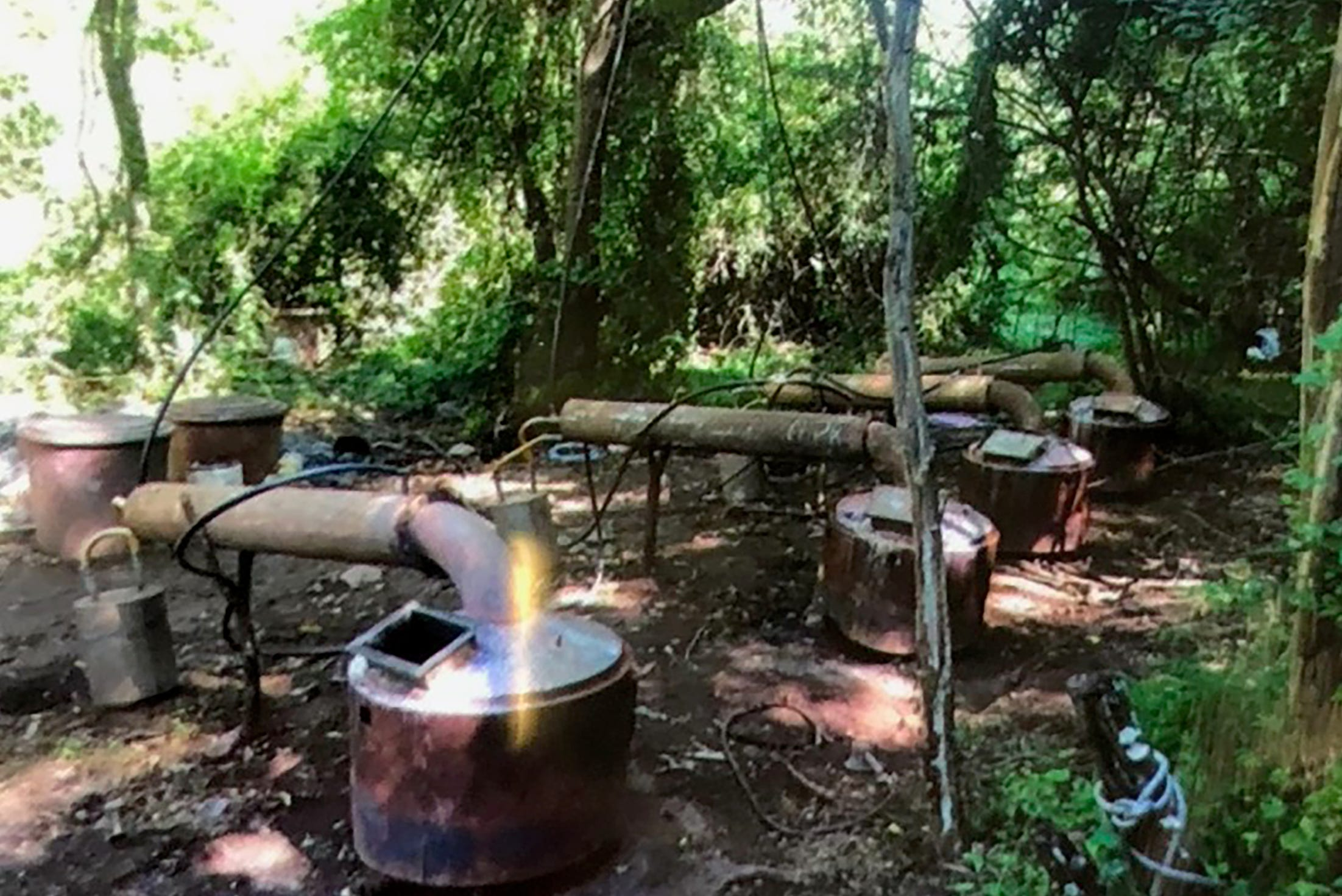 This billion-dollar cartel doesn't spend a lot of money on its meth super labs, like this one in the jungles of Jalisco. If police bust it, they just abandon it and move on to another one.