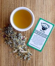 """""""Stress Relief"""" tea available is at Louisville Tea Co. at 9305 New La Grange Road."""