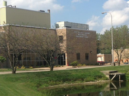 East Lansing's Wastewater Treatment Plant