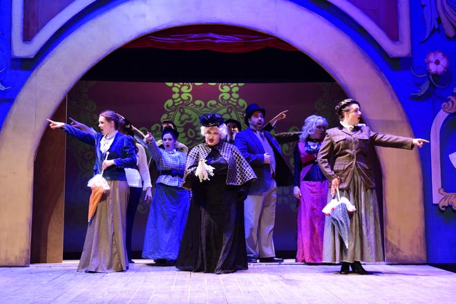 """The cast of """"A Gentleman's Guide to Love and Murder"""" will perform at The Renaissance Theatre this weekend and next."""