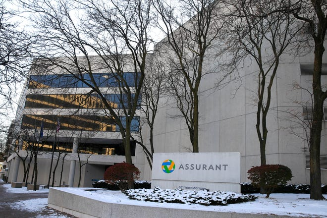 The former headquarters of Assurant Health, one of downtown Milwaukee's largest underused office buildings, is being sold and could be converted into a hotel.