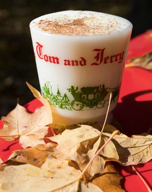 Tom and Jerry drinks, a mixture of eggs, powdered sugar, spices along with hot water or milk and a shot of brandy or rum, are popular in Wisconsin.