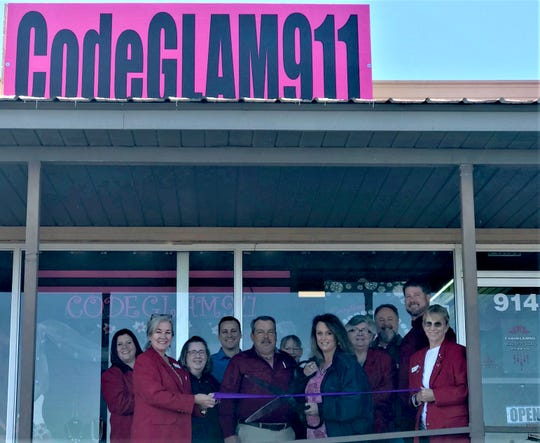 The Mountain Home Area Chamber of Commerce held a ribbon cutting Tuesdayfor CodeGlam911, located at 914 U.S. Highway 62 E.in the Harp's Plaza.Owners David and Kerry Rider say their costume jewelry is perfect for Christmas or any occasion and priced right a just $5 each piece. The pair expanded Kerry's Paparazzi consultant jewelry lineto the storefront in September. Kerry is a registered nurse at Baxter Regional Medical Center.She says any local shopping receipt, from any store, may be brought in for a chance to winfree jewelry. Drawings are held on Saturdays. Now through Dec.21, guests may also enterto win the holiday giveaway. For more information, visit their website at paparazziaccessories.com/294697or facebook.com/CodeGLAM911.