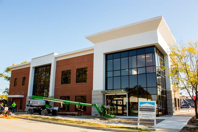 Yorktown offices moved into the new Yorktown Town Hall earlier this month.